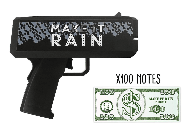 NPW NPW69228 Maker Money Thrower, Make it Rain